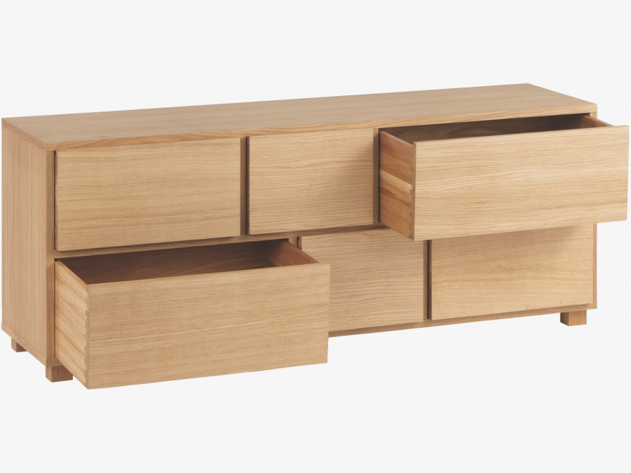 Low Chest Of Drawers ~ Hana ii drawers low chest qualita