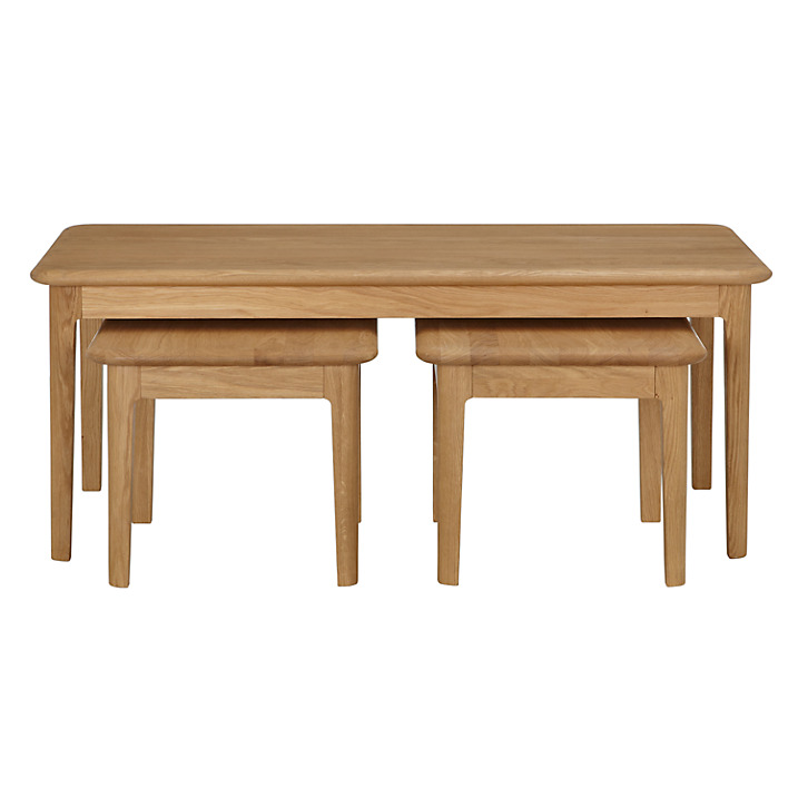 Hudson Coffee Table Nest Of 3 Tables Qualita