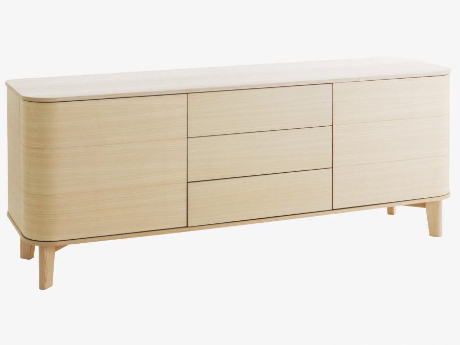 lumen ash sideboard qualita. Black Bedroom Furniture Sets. Home Design Ideas